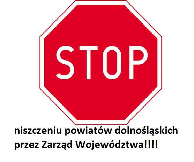 powiat wałbrzyski: Powiat się sprzeciwia