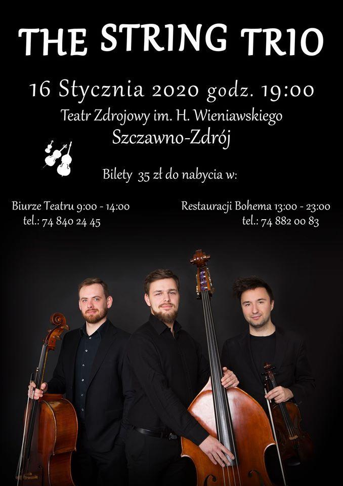 REGION, Szczawno-Zdrój: Wystąpi trio
