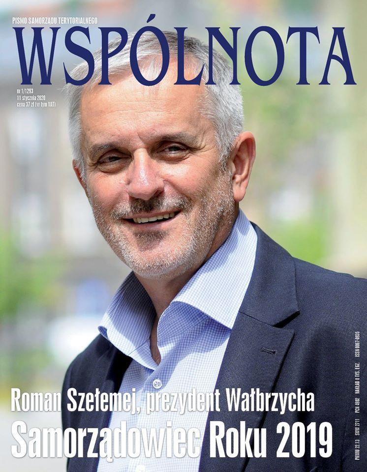 Wałbrzych/Kraj: Szełemej samorządowcem roku