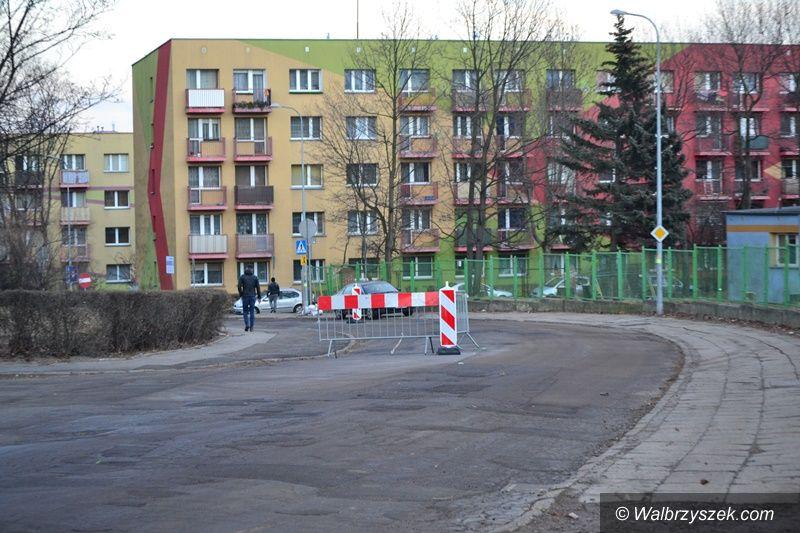 Wałbrzych: Remont na Dunikowskiego