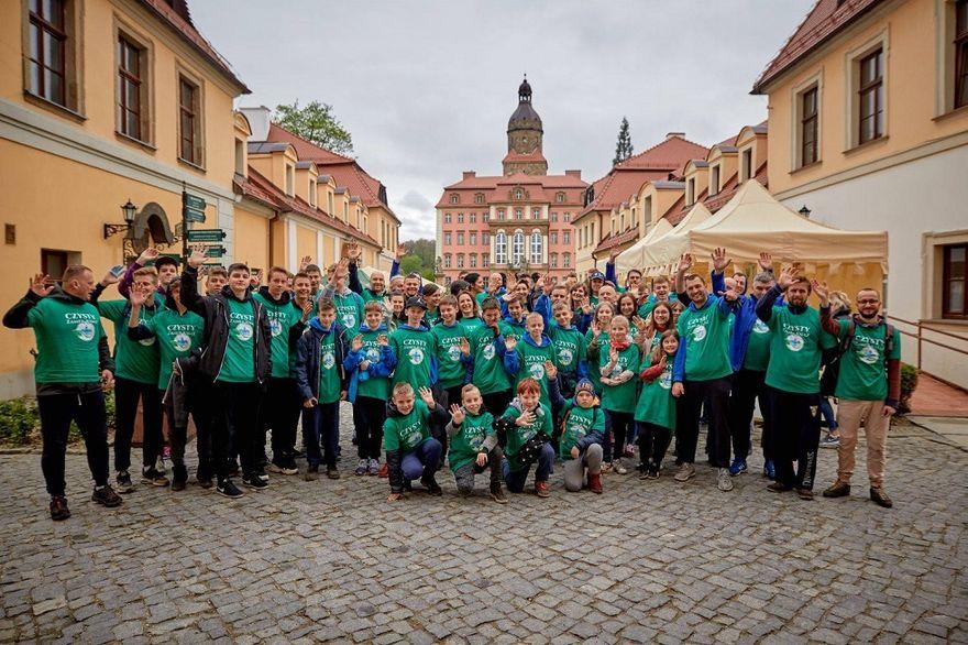 Wałbrzych: STOP Plastik w Zamku Książ