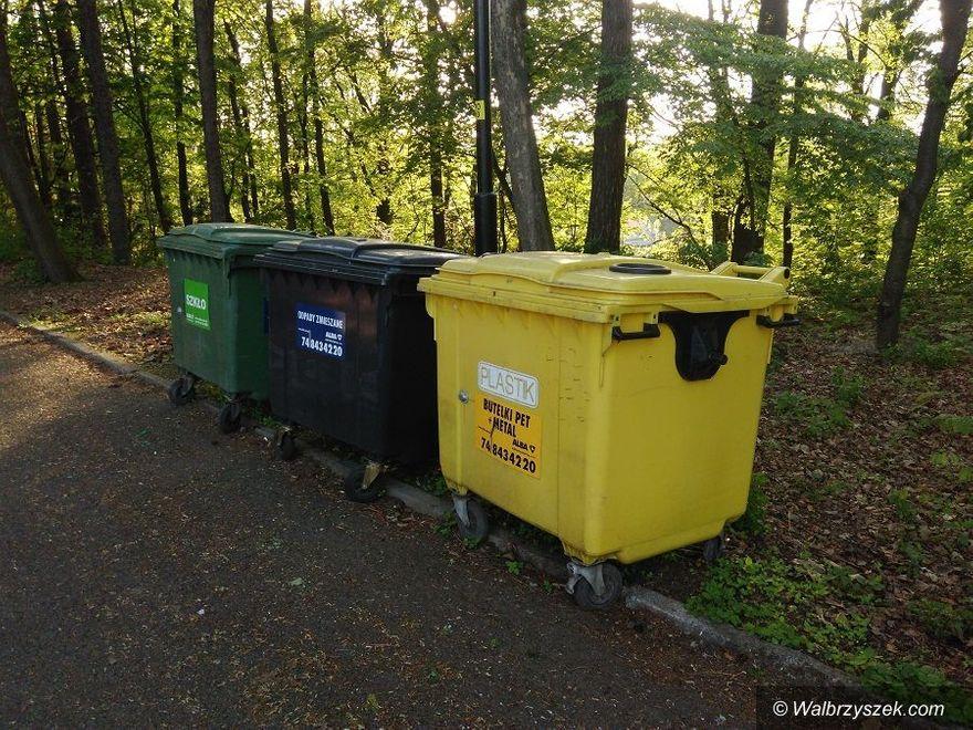 Wałbrzych/powiat wałbrzyski: Ranking segregacji odpadów