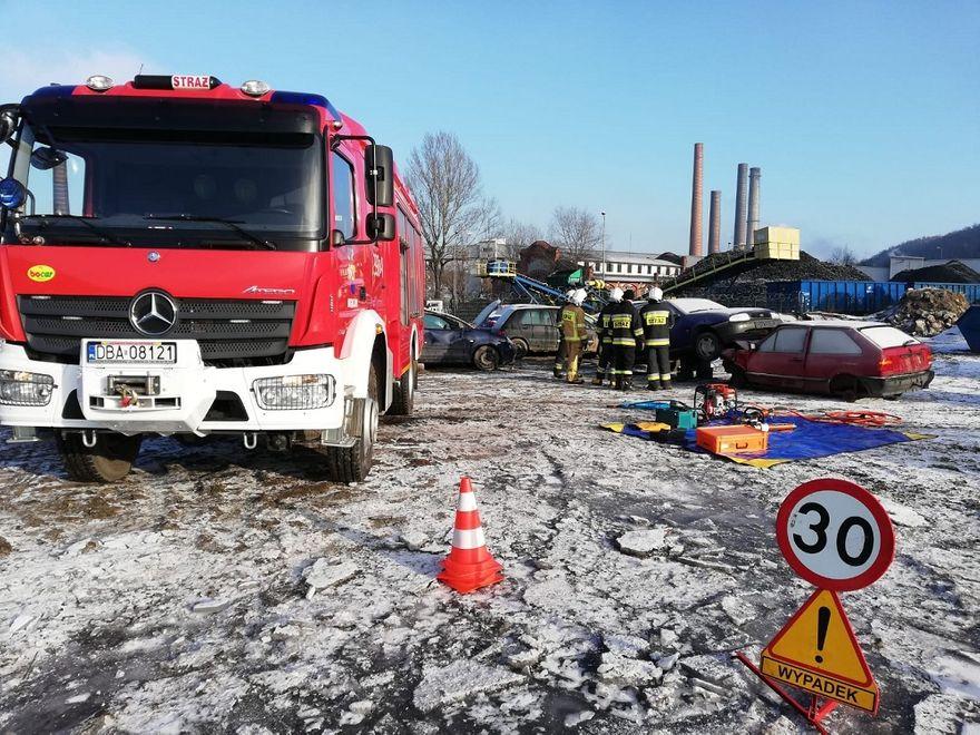 REGION, Boguszów-Gorce: Strażacy ćwiczyli