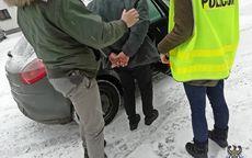 REGION, Boguszów-Gorce: Obudzili go policjanci