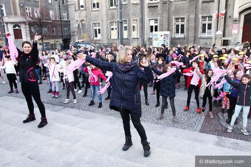 Wałbrzych: Taniec przeciw przemocy
