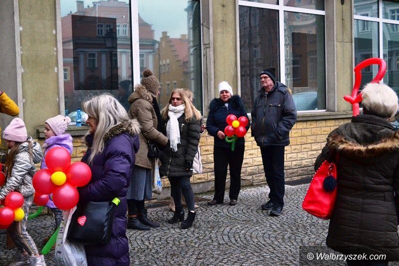 Wałbrzych: Walentynki w Rynku