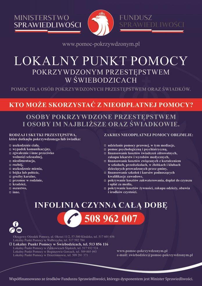 Wałbrzych/Boguszów-Gorce: Punkty pomocy
