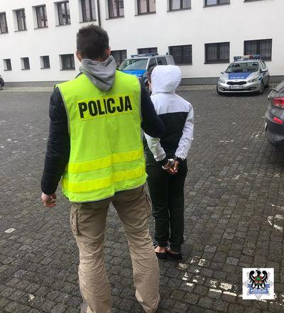 Wałbrzych/powiat wałbrzyski: Wrocławianka w areszcie