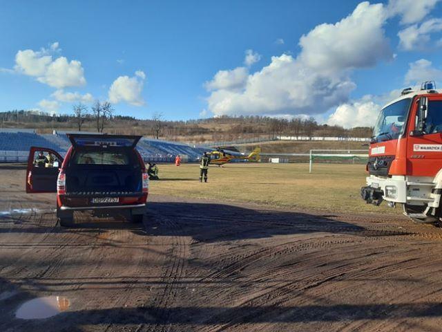 Wałbrzych: Helikopterem do szpitala