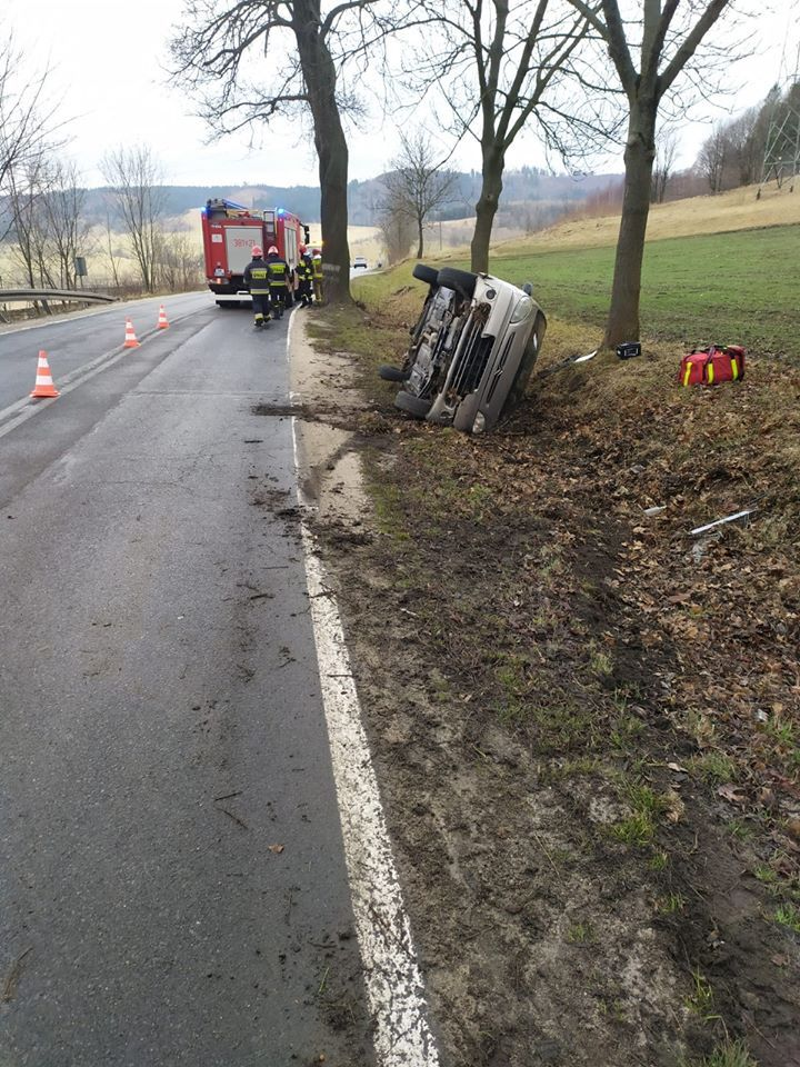 powiat wałbrzyski: Wypadki na drogach