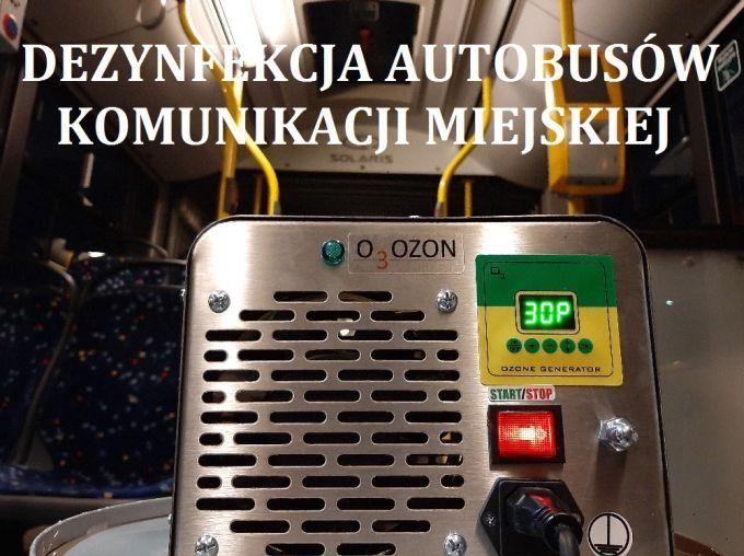 Wałbrzych: Dezynfekują autobusy