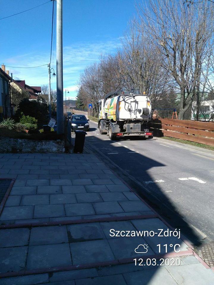 REGION, Szczawno-Zdrój: Wiosenne porządki