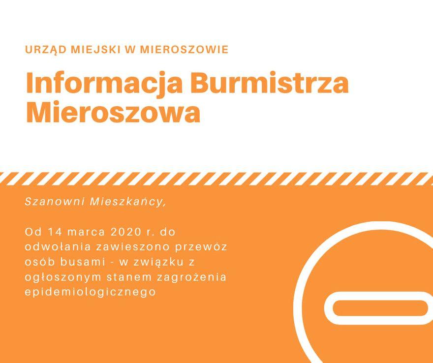 REGION, Mieroszów: Kursy zawieszone