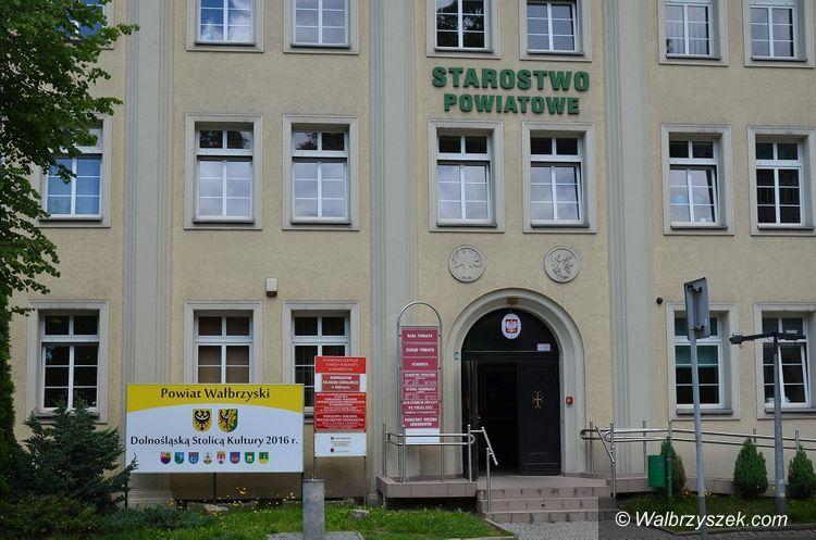 powiat wałbrzyski: Zmiany w Starostwie