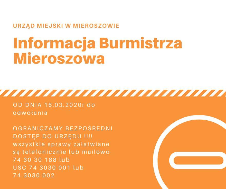 REGION, Mieroszów: Decyzje dla bezpieczeństwa
