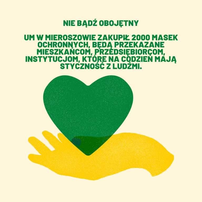 REGION, Mieroszów: Maseczki dla zagrożonych