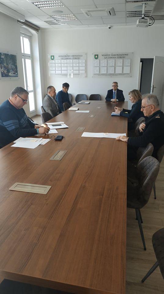REGION, Szczawno-Zdrój: Spotkania zespołu kryzysowego