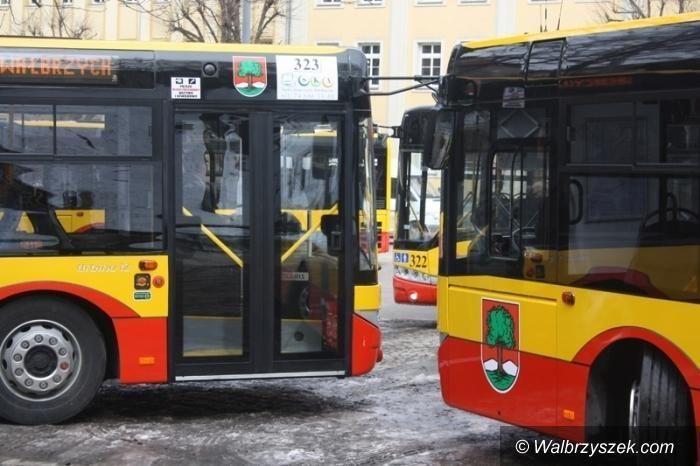 Wałbrzych: Mniej pasażerów w autobusach