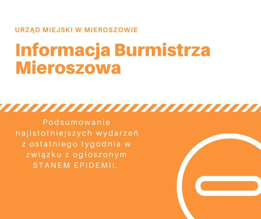 REGION, Mieroszów: Mieroszów podsumowuje tydzień
