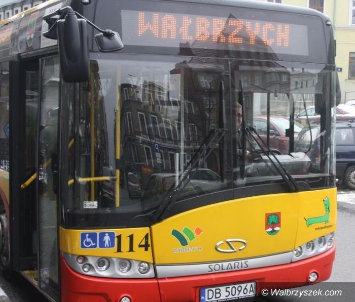 Wałbrzych: Autobusy będą jeździć