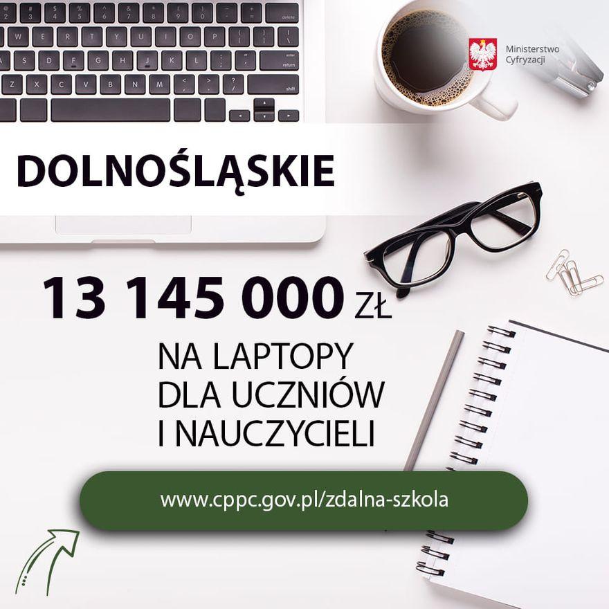 REGION, Boguszów-Gorce: Laptopy pomogą