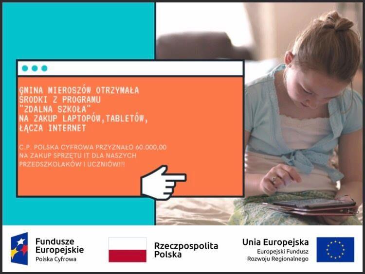 REGION, Mieroszów: Dostaną laptopy