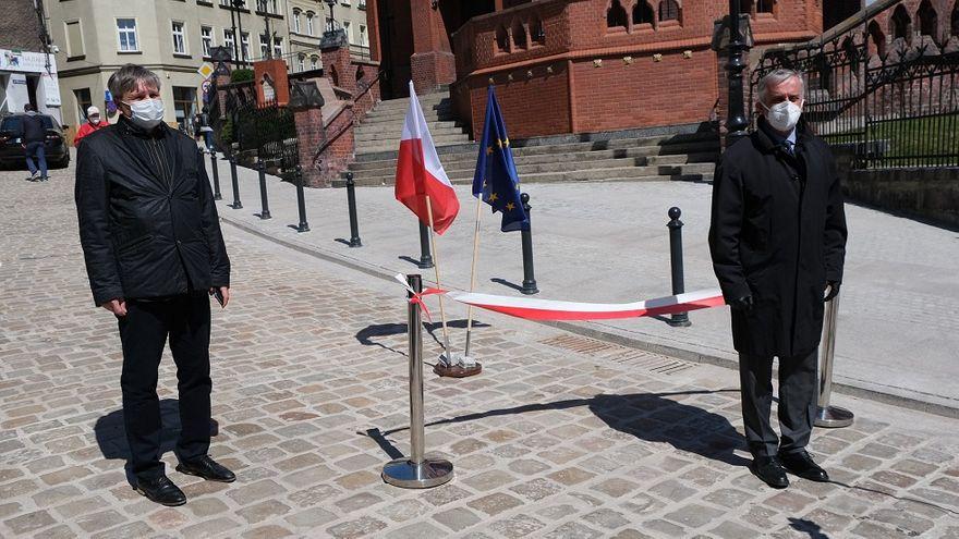 Wałbrzych: Ulica Garbarska otwarta