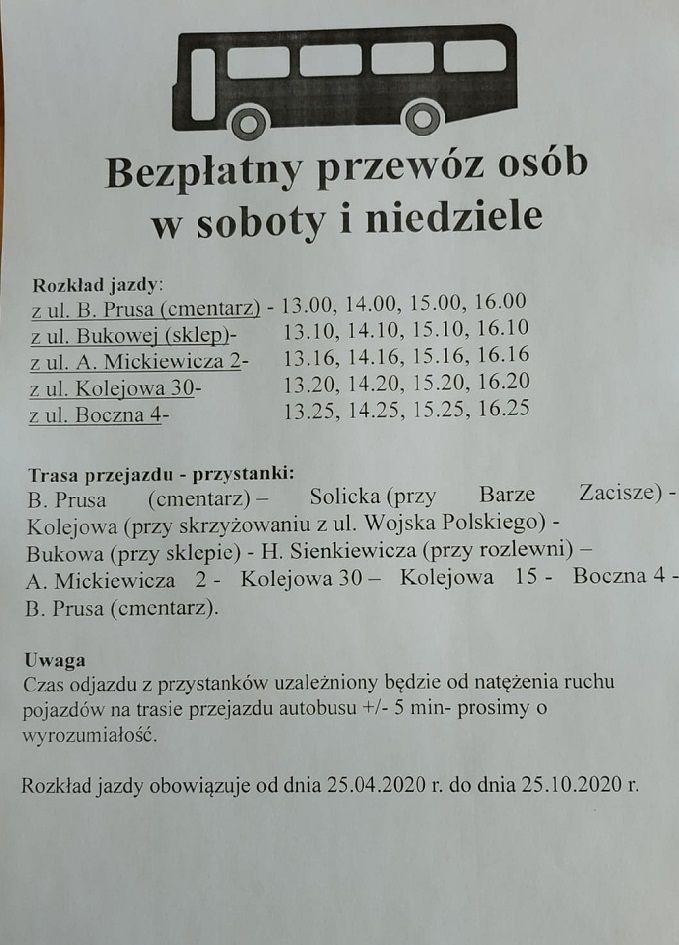 REGION, Szczawno-Zdrój: Bezpłatnie na cmentarz