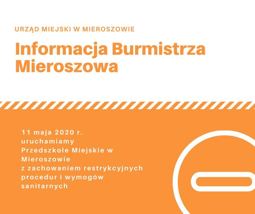 REGION, Mieroszów: Mieroszów otwiera przedszkole