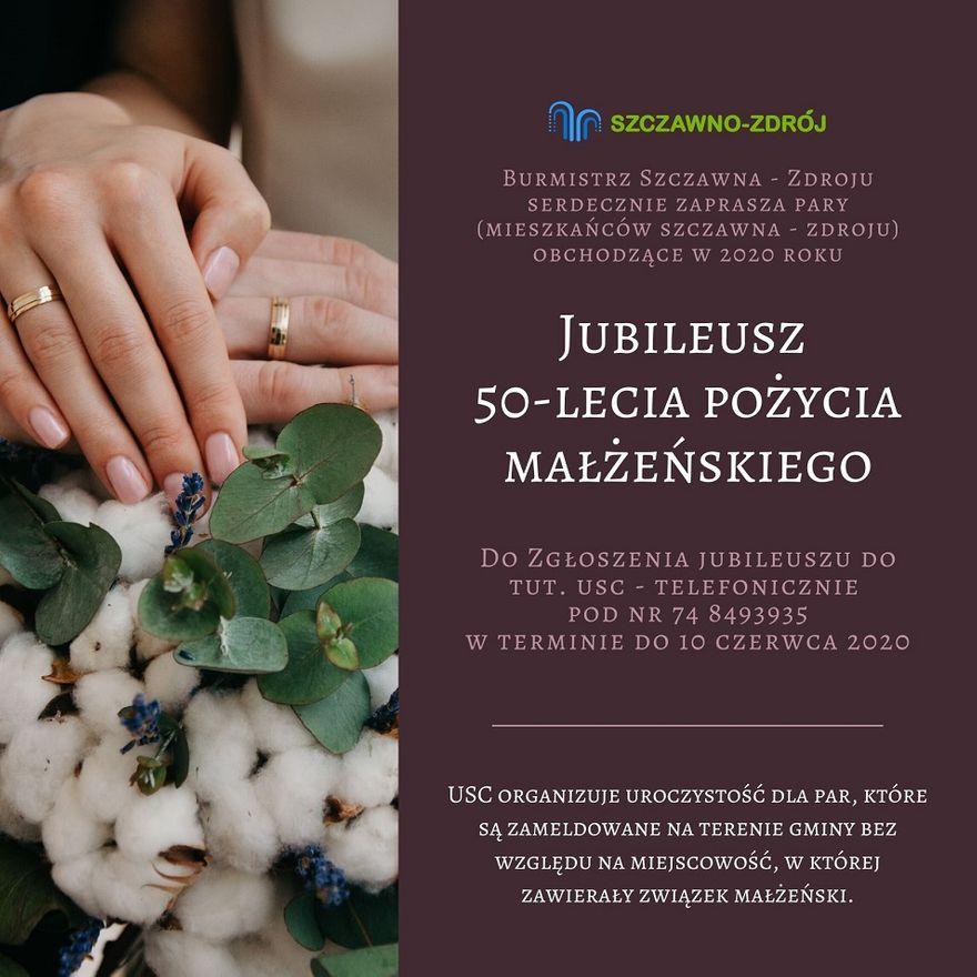 REGION, Szczawno-Zdrój: Poszukują jubilatów