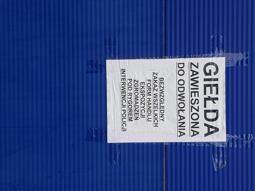Wałbrzych/Szczawno-Zdrój: Giełda wciąż nieczynna