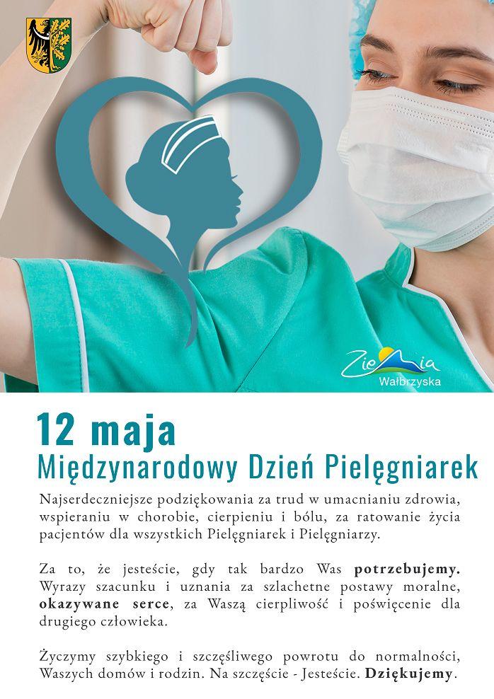 Wałbrzych/powiat wałbrzyski: Życzenia dla pielęgniarek