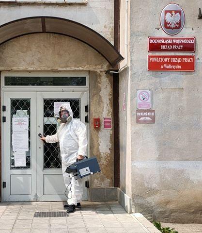 powiat wałbrzyski: Powiat kupił testy