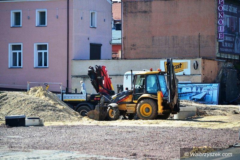 Wałbrzych: Plac Grunwaldzki na nowo