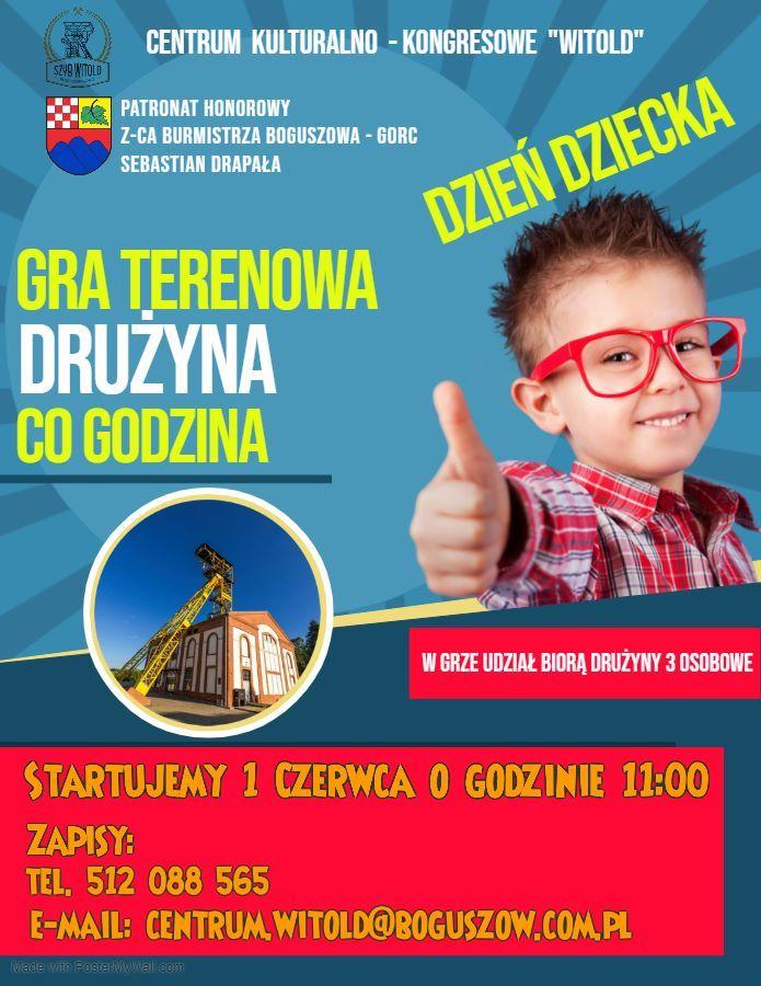 REGION, Boguszów-Gorce: Gra terenowa
