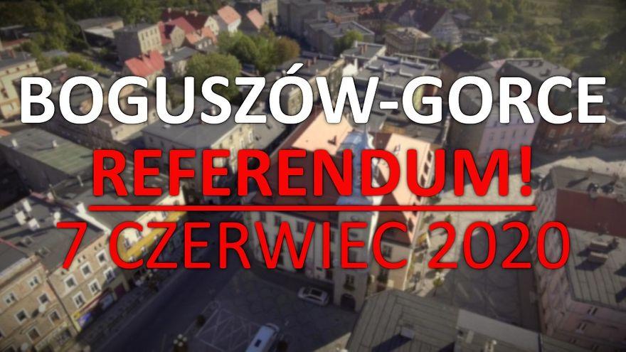REGION, Boguszów-Gorce: Referendum już 7 czerwca