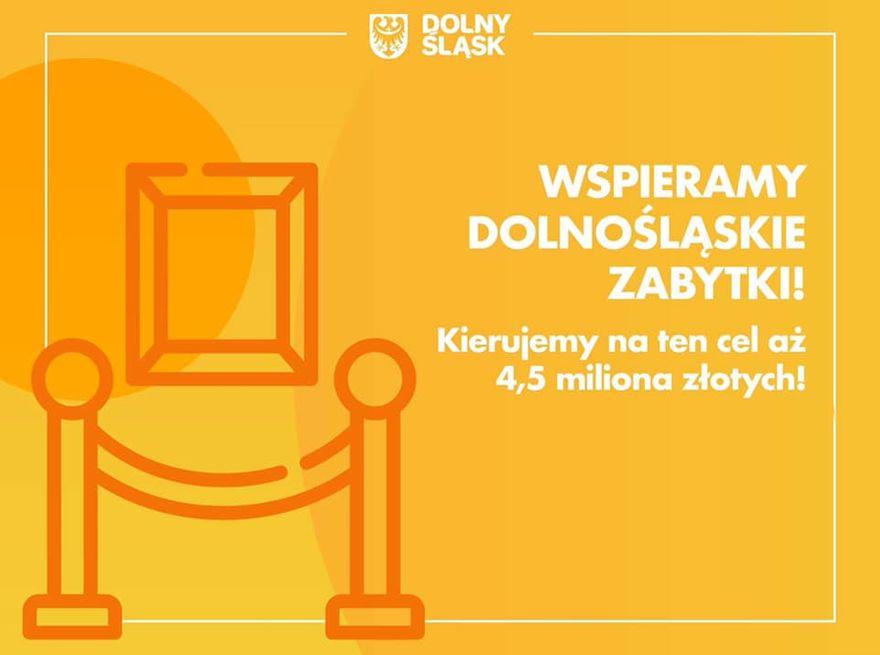 Wałbrzych/powiat wałbrzyski: Dotacja na zabytki