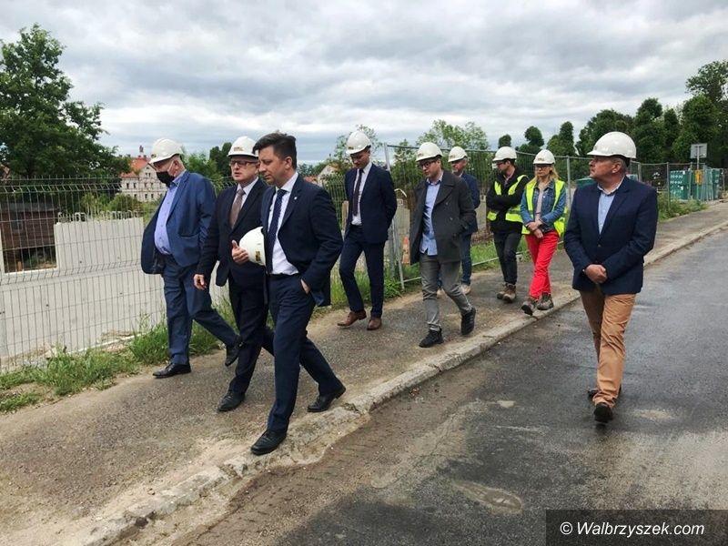 Wałbrzych/powiat wałbrzyski: Minister w Wałbrzychu