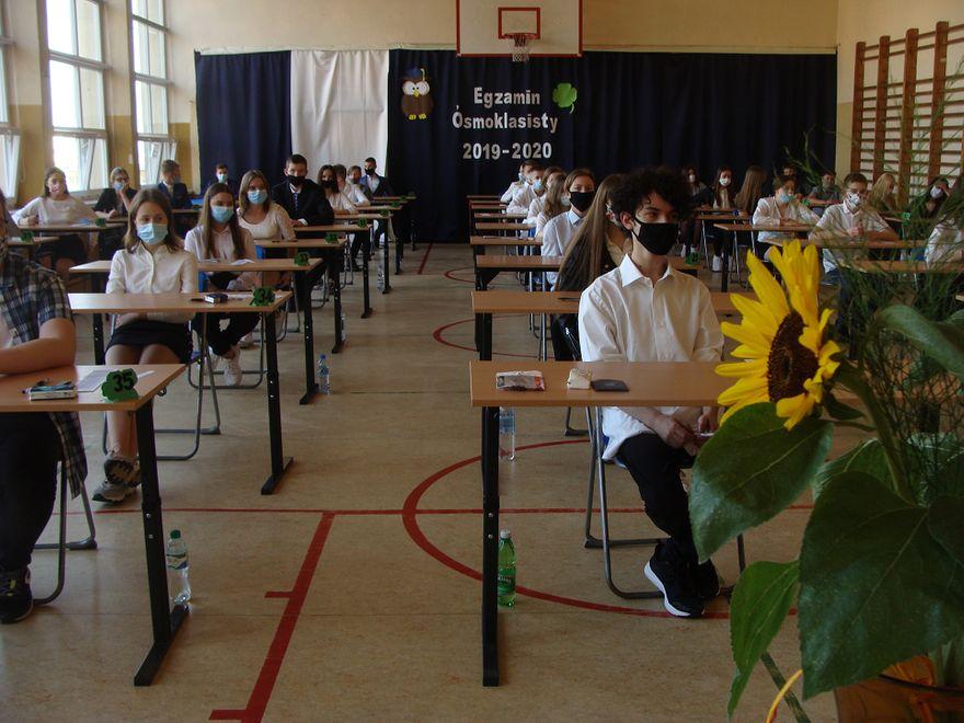 Wałbrzych: Egzamin ósmoklasisty w PSP nr 15