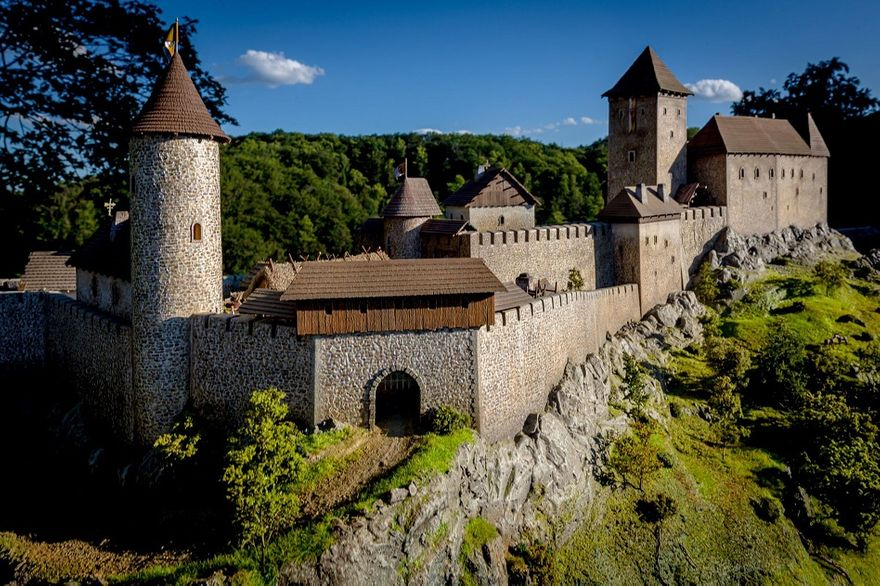 Wałbrzych: Książ w średniowieczu