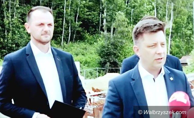 Wałbrzych: Minister chwali rząd