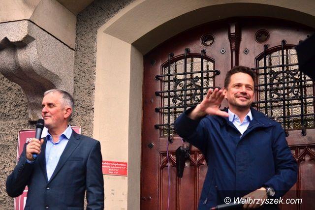 Wałbrzych: Trzaskowski zdobył Wałbrzych