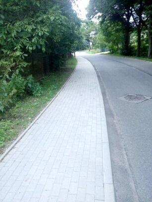powiat wałbrzyski: Chodniki jak nowe
