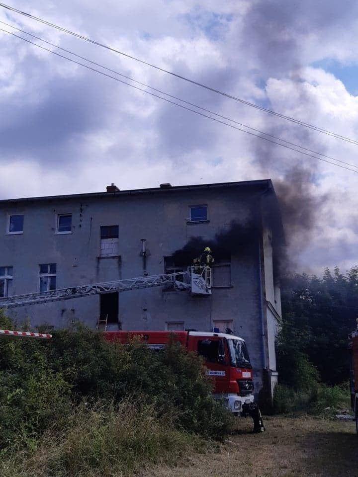 REGION, Boguszów-Gorce: Ćwiczenia gaśnicze