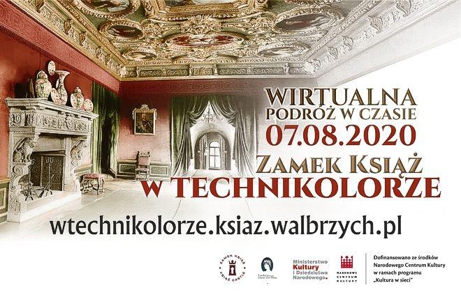 Wałbrzych: Książ w technikolorze