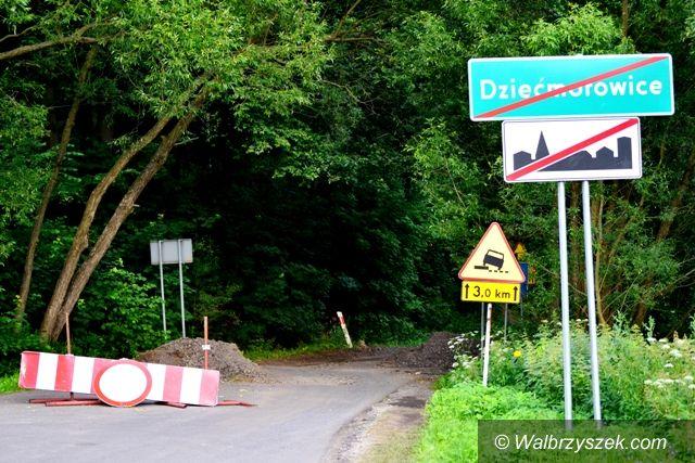 REGION, Dziećmorowice: Remontują drogę