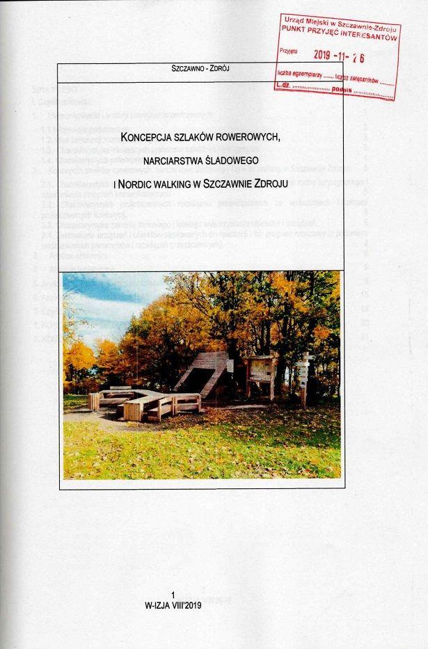 REGION, Szczawno-Zdrój: Mają koncepcję