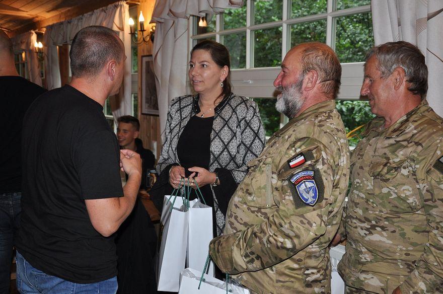 powiat wałbrzyski: Żołnierska wizyta
