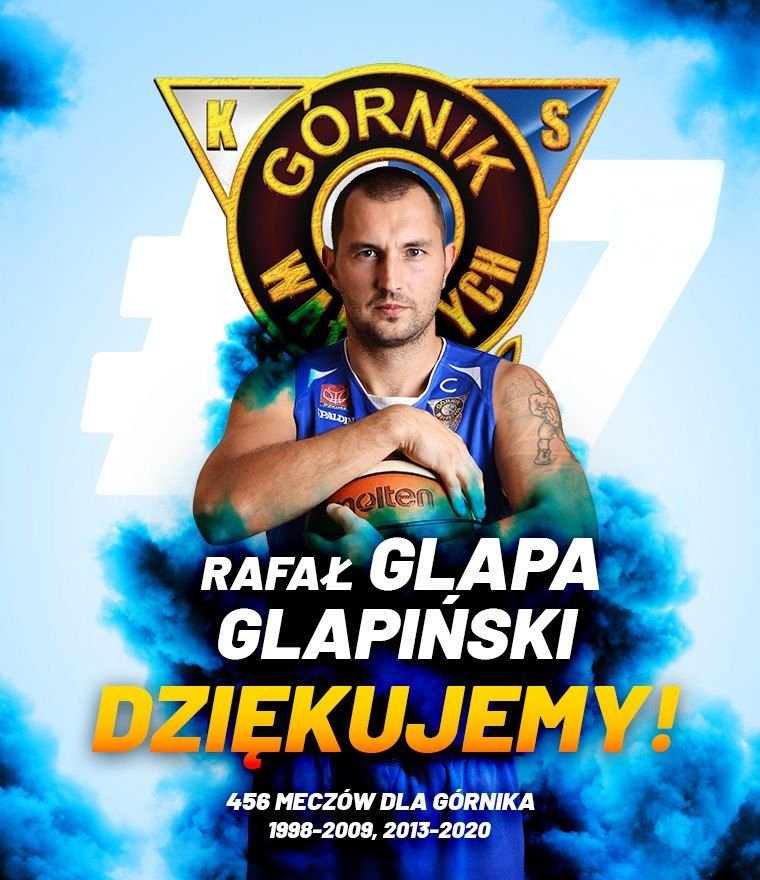 Wałbrzych: Glapiński kończy karierę