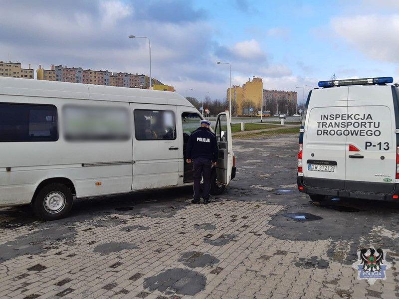 Wałbrzych/powiat wałbrzyski: Kontrolują przewoźników